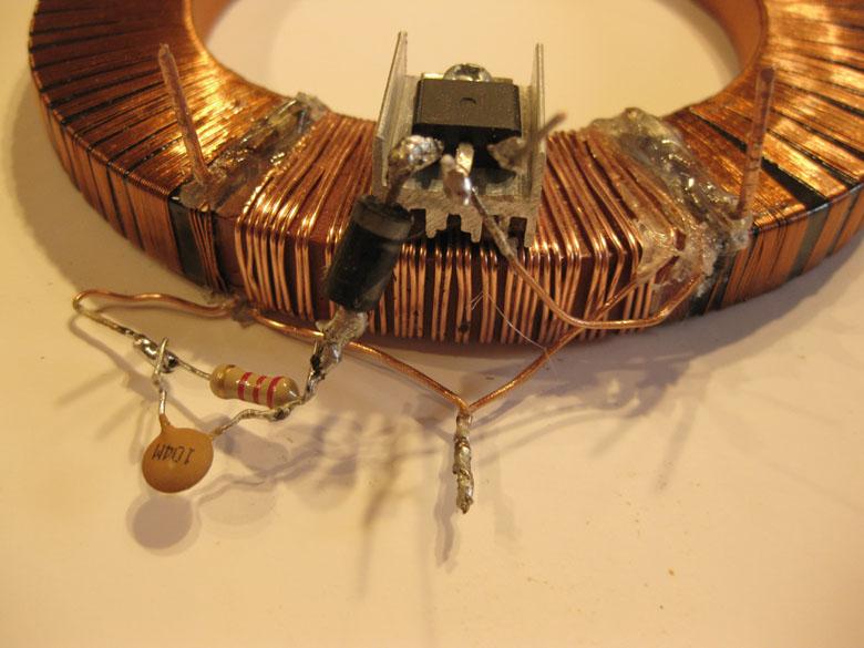 Бесконечный источник энергии (магнит и катушки)2